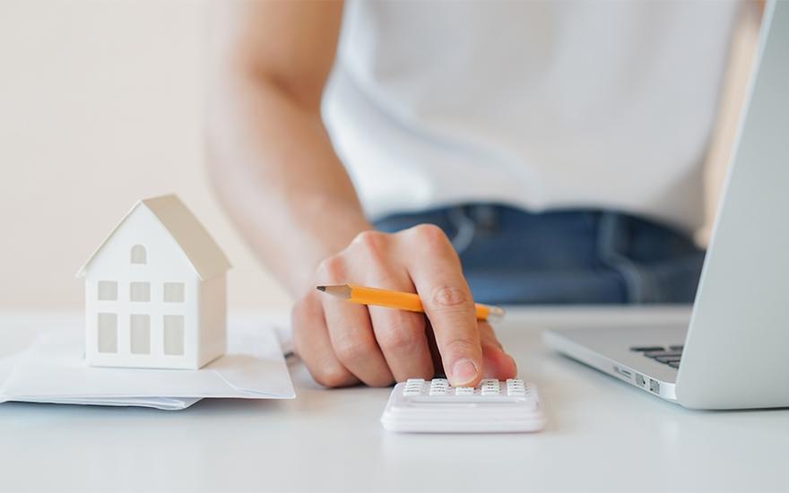 Taxe foncière + maison avec billets