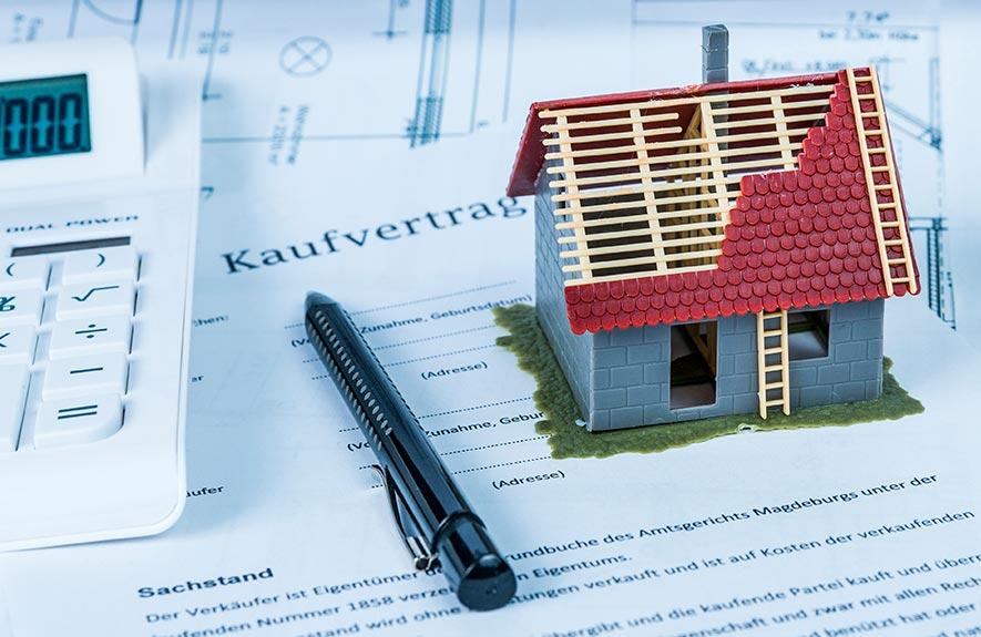 Contrat d'achat maison