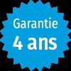 Garantie 4 ans