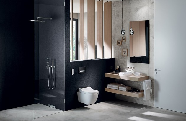 Douche italienne Geberit solution