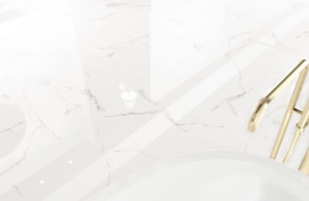 Carrelage imitation marbre Calacata Pavigres