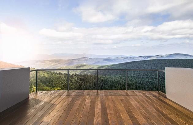 Le carrelage imitation bois pour le balcon | Espace Aubade