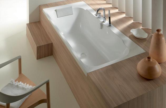 La baignoire rectangulaire Doble de Jacob Delafon