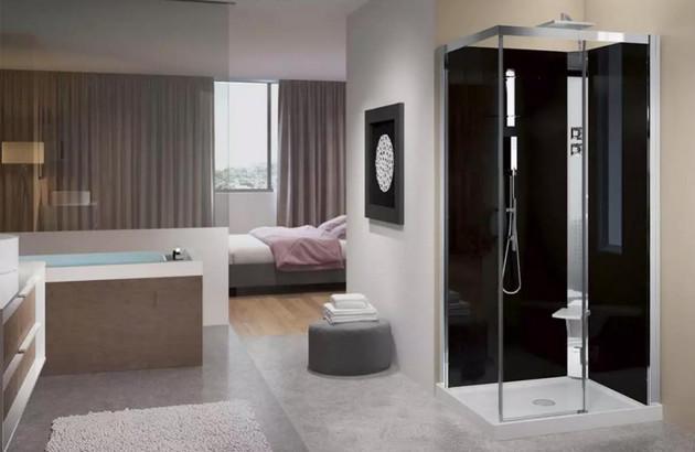 Cabines de douche intégrales Novellini Crystal A100X80
