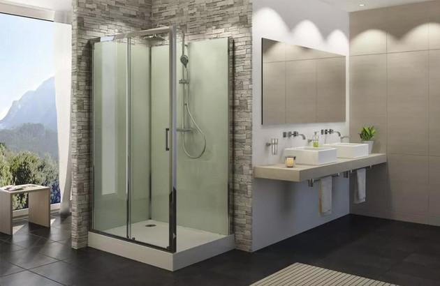 Cabine de douche intégrale SanSwiss Modul'R
