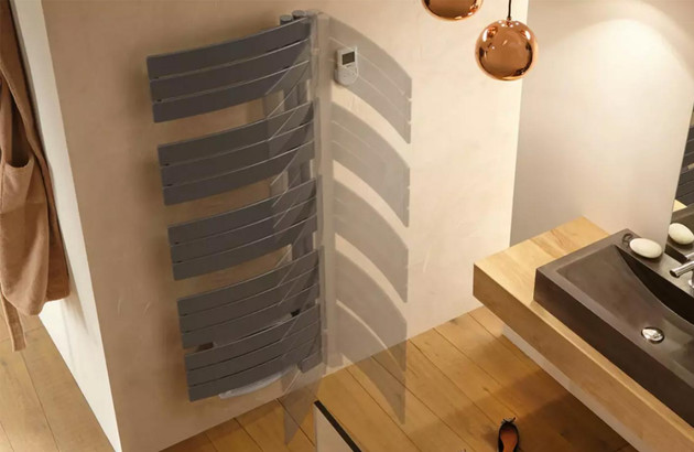 Le radiateur sèche-serviettes Nefertiti by Atlantic