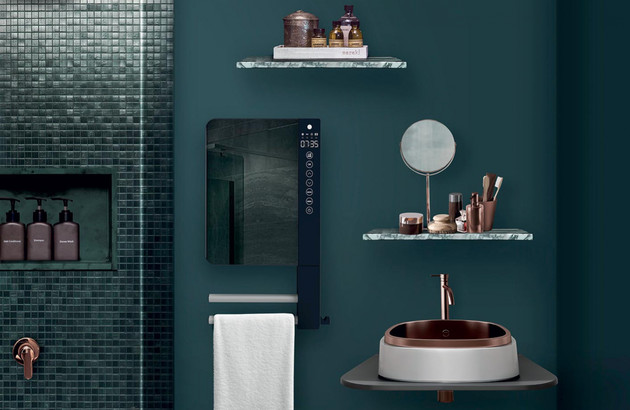 Télia, le sèche-serviette design signé Atlantic