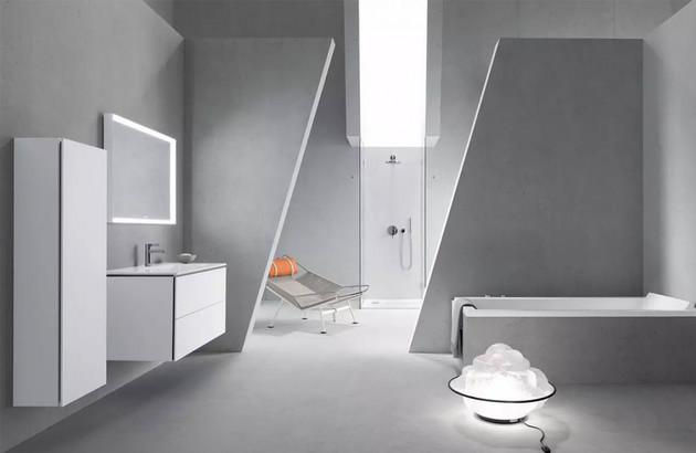 Comment bien agencer une grande salle de bains?
