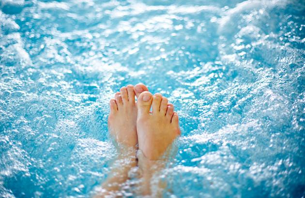 Massage à eau
