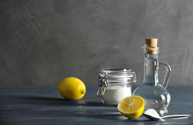 Bicarbonate et vinaigre blanc