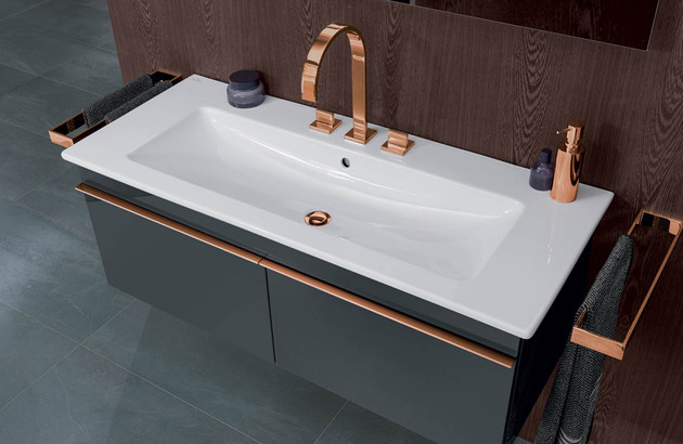 Le plan vasque Venticello de la marque Villeroy & Boch