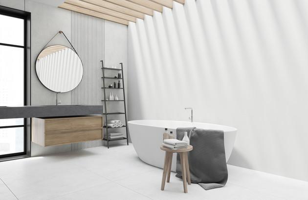 Les baignoires en matériaux de synthèse