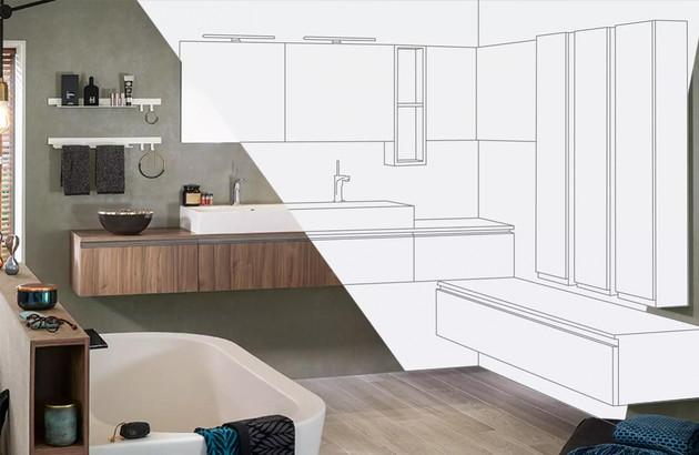 Créez la salle de bain de vos rêves avec le configurateur 3D d'Espace Aubade