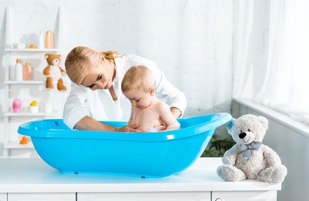La baignoire pour bébé