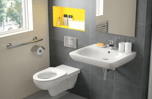 Les aménagements techniques d'un WC PMR