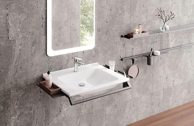 Les lavabos PMR