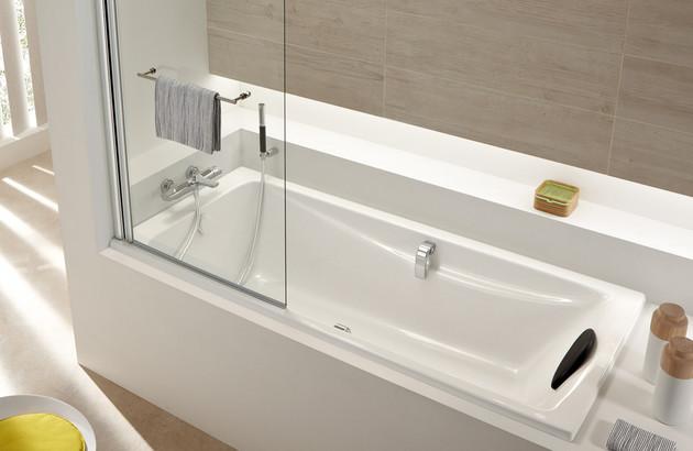 installation avec mitigeur bain douche thermostatique