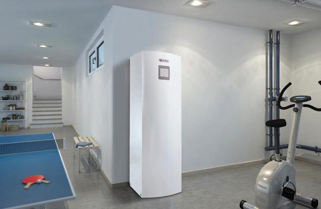 La pompe à chaleur aérothermique Compress 6000 AW de Bosch