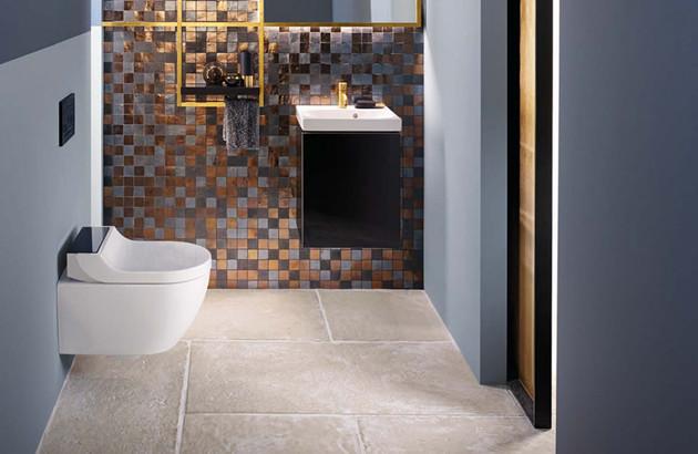 WC lavant suspendu AquaClean Tuma Comfort de Geberit