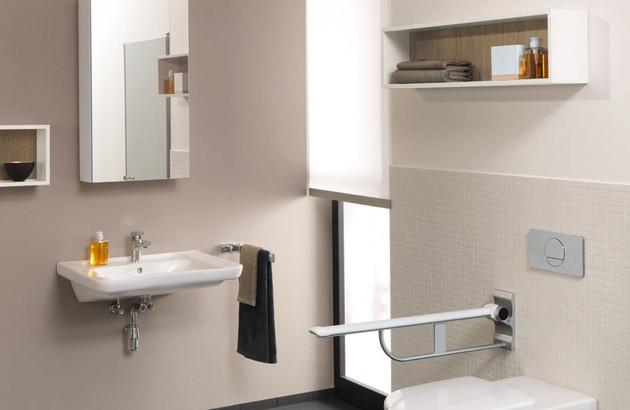 Lavabo extrat plt pour PMR Architectura Vita de Villeroy & Bosch