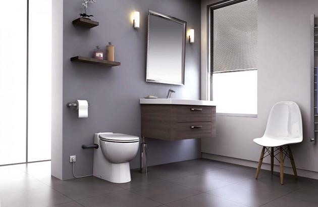 Broyeur WC silencieux Sanicompact Pro de SFA