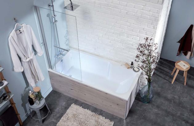 Les dimensions standards des baignoires rectangulaires