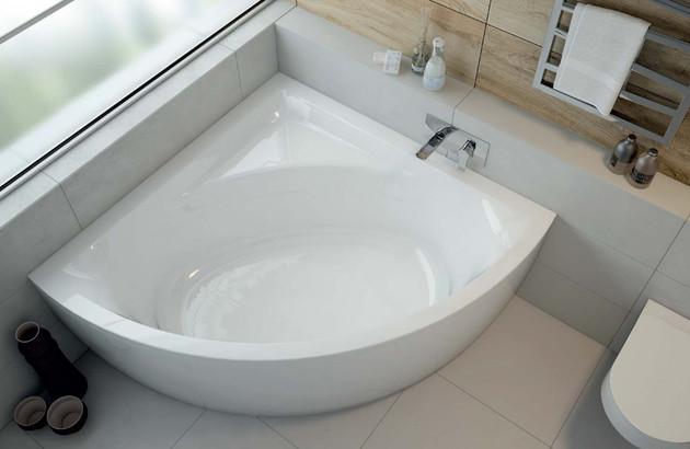 Les dimensions des baignoires d'angle