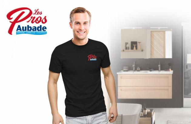 un artisan les Pros Aubade disponible proche de chez vous pour installer votre douche