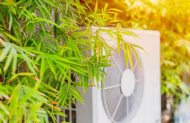 Climatisation qui s'harmonise avec l'environnement extérieur