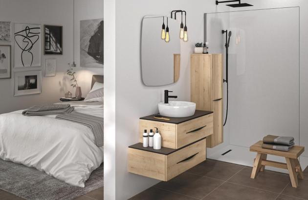 Meuble pour petite salle de bain Bento 3.0 de Decotec