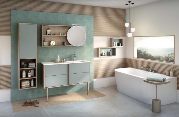 ensemble salle de bains zen et lumineuse