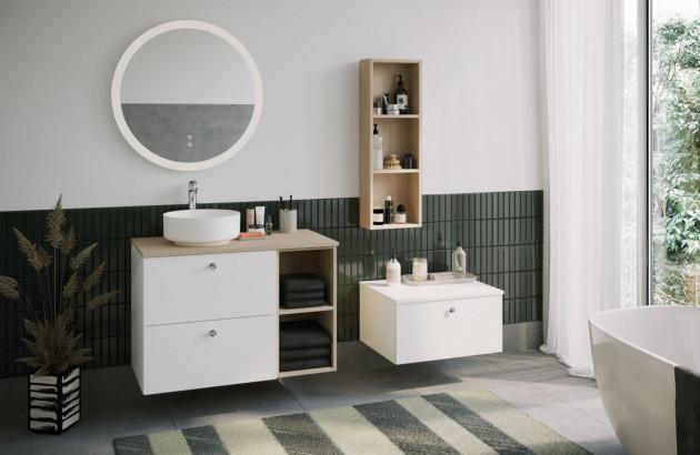 Meuble salle de bains de qualité Mix and Match de Burgbad