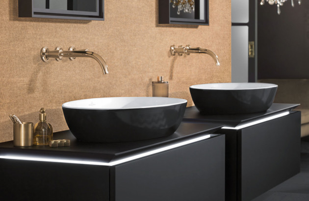 Vasque à poser en TitanCeram Artis de VILLEROY & BOCH, une matière robuste