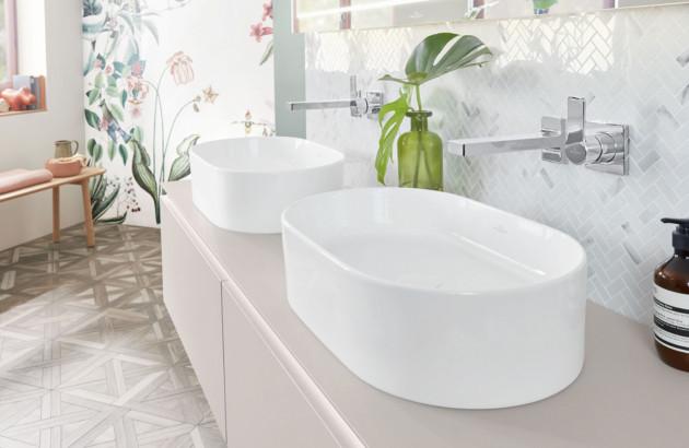 Vasque à poser Collaro de VILLEROY & BOCH, une gamme résistante