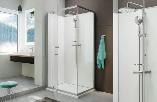 cabine de douche rectangulaire Moorea de leda