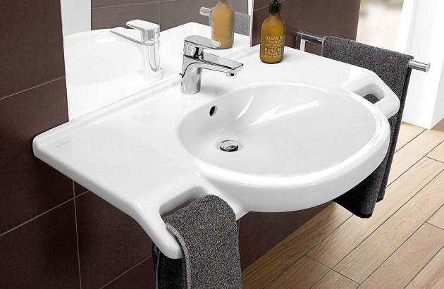 Lavabo extra-plat O.Novo Vita  de Villeroy & Boch
