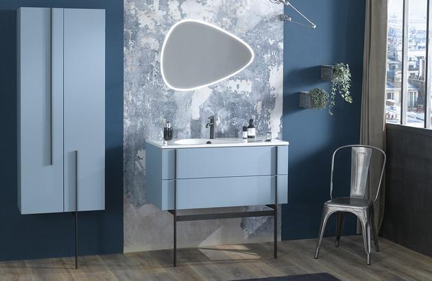 meuble de salle de bains nouvelle vague