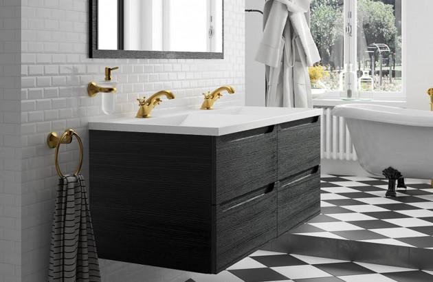Meuble de salle de bains Feeling de Cédam