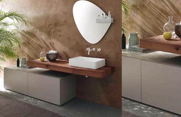 Meuble salle de bains Consoles Stocco design retro