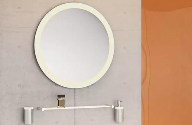 Miroir lumineux à led système 162 pour un style totalement rétro
