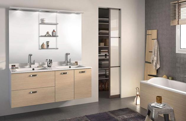 Meuble de salle de bains Evolution de Delpha