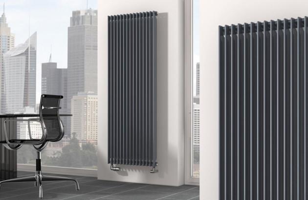 Radiateur vertical en fonte