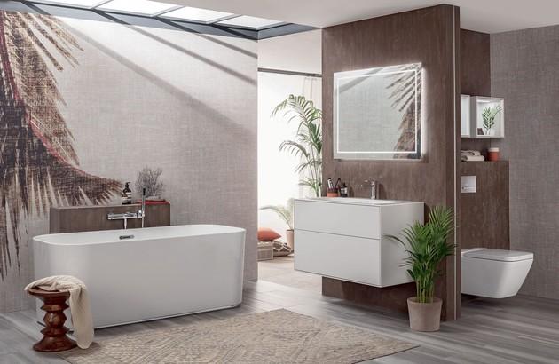 Comment bien am nager ses toilettes espace aubade - Aubade carrelage salle de bain ...