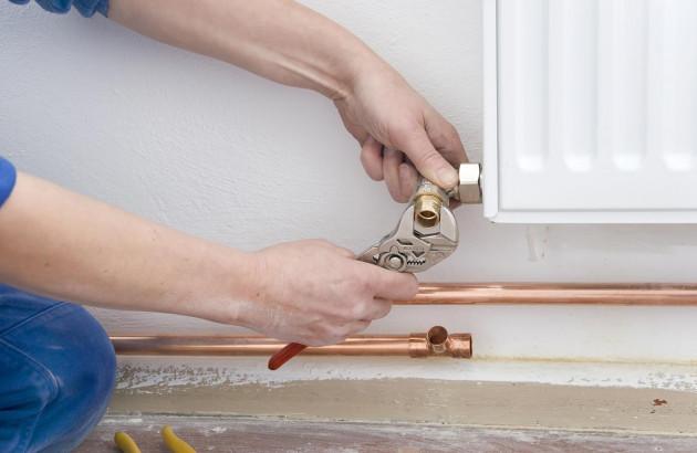 réparation d'un radiateur