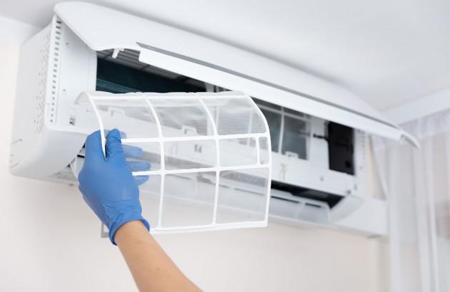 Nettoyage d'une climatisation réversible