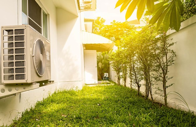 Unité extérieure d'une climatisation centralisée
