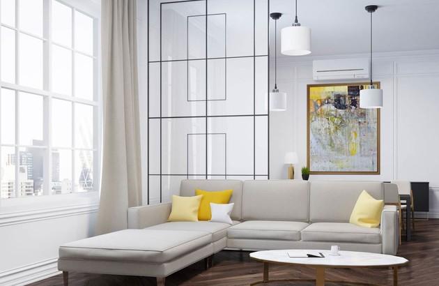 climatiseur mural reversible salon