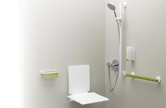 Une salle de bains pratique pour les PMR et les seniors