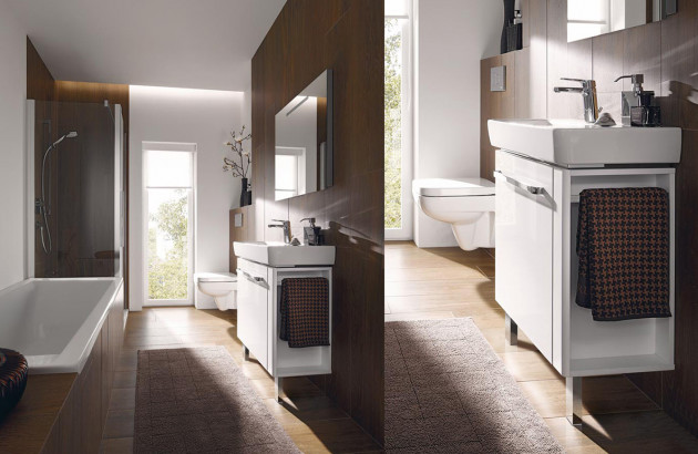 am nager une salle de bain tout en longueur espace aubade. Black Bedroom Furniture Sets. Home Design Ideas