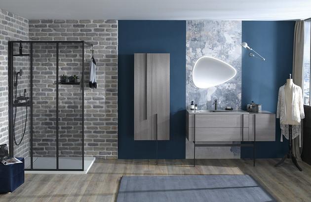 salle de bain de luxe avec la collection Nouvelle Vague